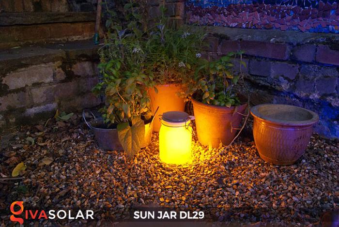 Lọ thủy tinh đổi màu năng lượng mặt trời DL29 4