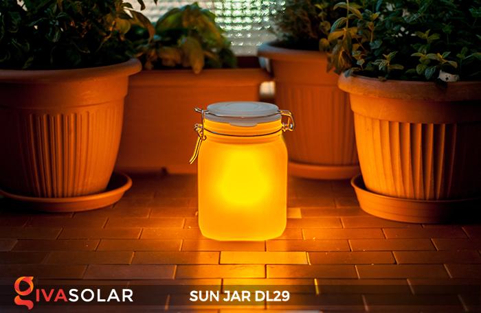 Lọ thủy tinh đổi màu năng lượng mặt trời DL29 5