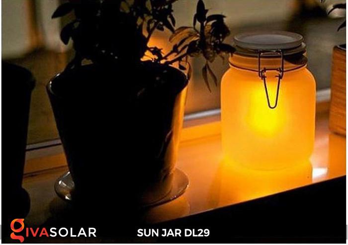 Lọ thủy tinh đổi màu năng lượng mặt trời DL29 6