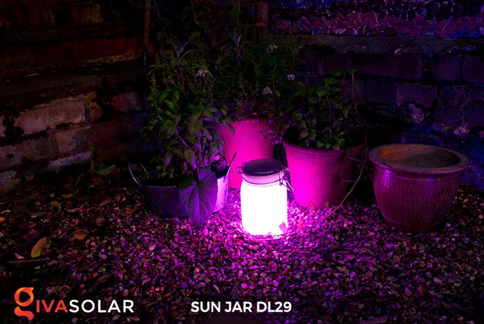Lọ thủy tinh đổi màu năng lượng mặt trời DL29 7