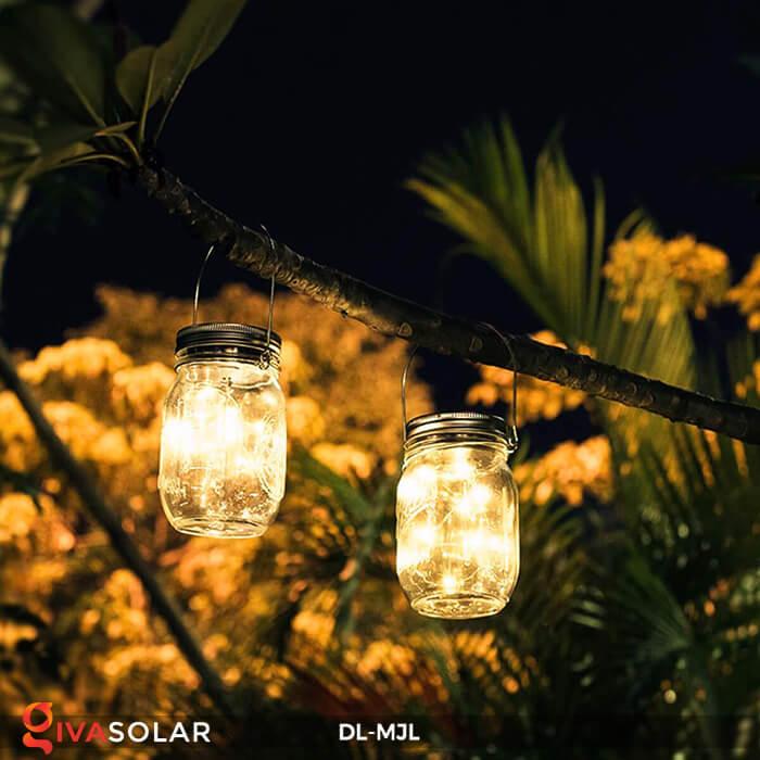 Lọ thủy tinh trang trí năng lượng mặt trời DL-MJL 1
