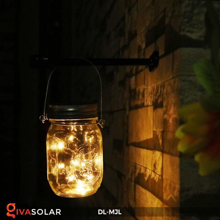 Lọ thủy tinh trang trí năng lượng mặt trời DL-MJL 13