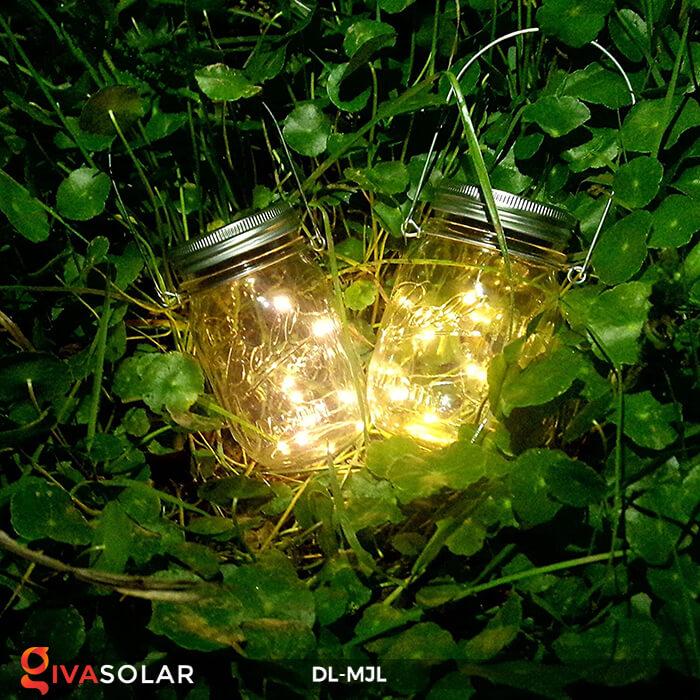 Lọ thủy tinh trang trí năng lượng mặt trời DL-MJL 15