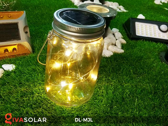 Lọ thủy tinh trang trí năng lượng mặt trời DL-MJL 17
