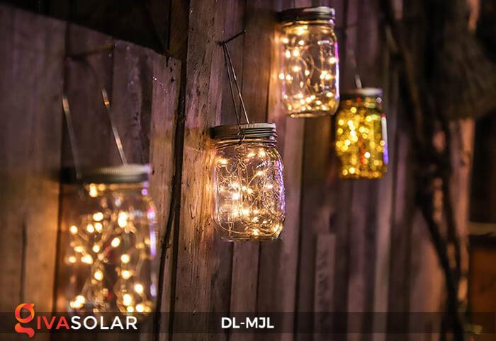 Lọ thủy tinh trang trí năng lượng mặt trời DL-MJL 6