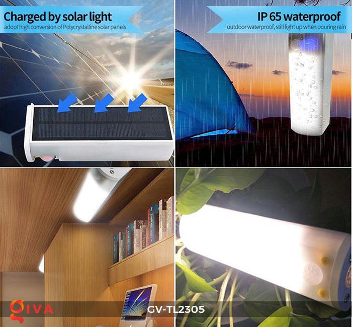 Đèn cắm trại cầm tay năng lượng mặt trời TL2305 5