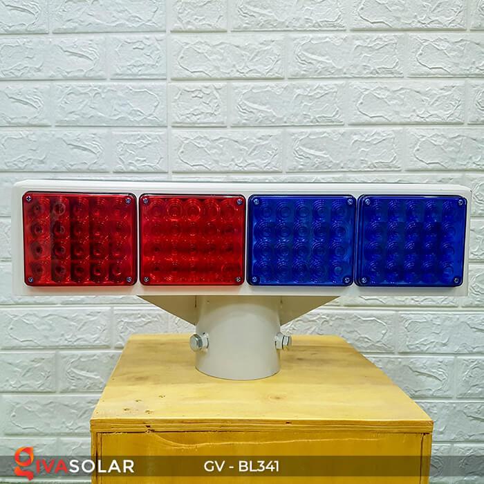 Đèn cảnh báo giao thông năng lượng mặt trời BL341 1