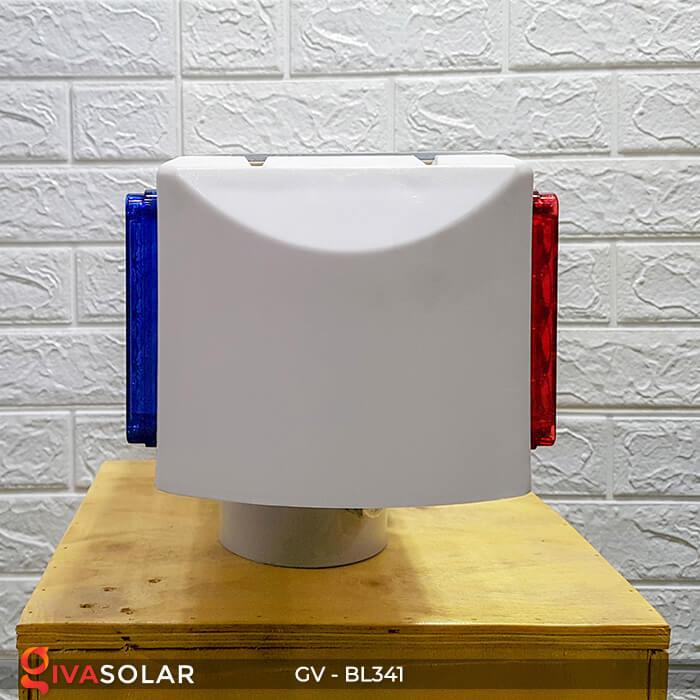 Đèn cảnh báo giao thông năng lượng mặt trời BL341 4
