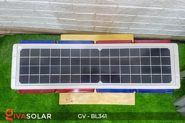 Đèn cảnh báo giao thông năng lượng mặt trời BL341 5