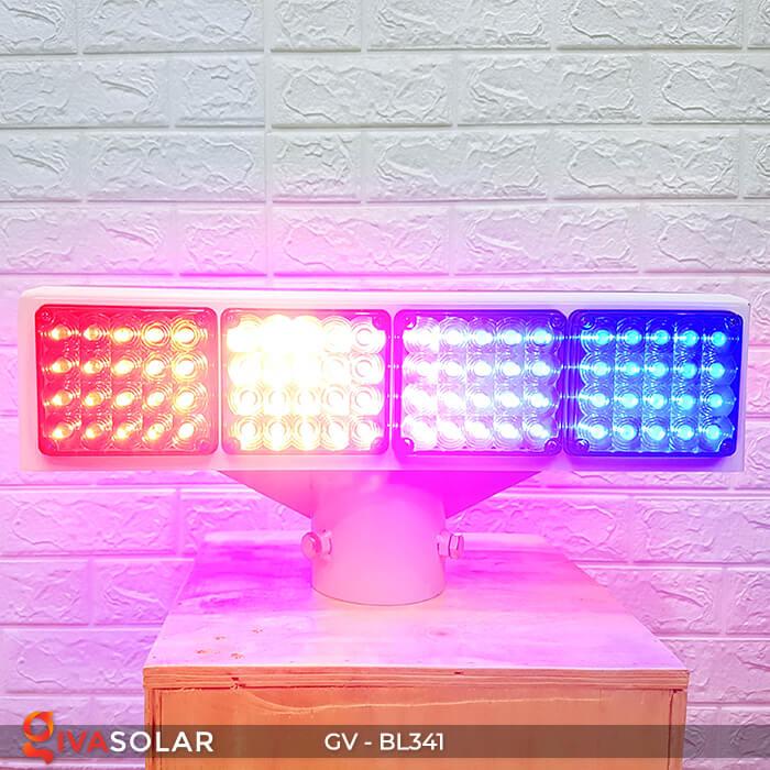 Đèn cảnh báo giao thông năng lượng mặt trời BL341 6
