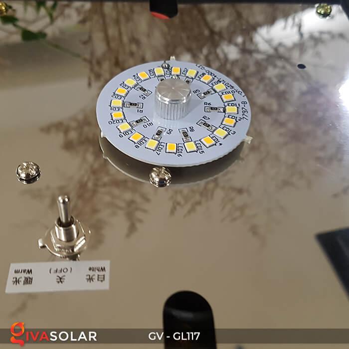 Đèn chiếu cổng năng lượng mặt trời GL117 13