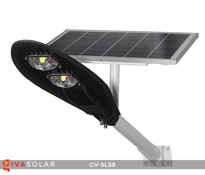 đèn đường LED năng lượng mặt trời SL58 1