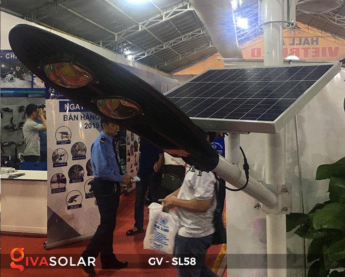 đèn đường LED năng lượng mặt trời SL58 6