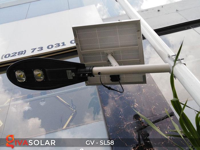 đèn đường LED năng lượng mặt trời SL58 7