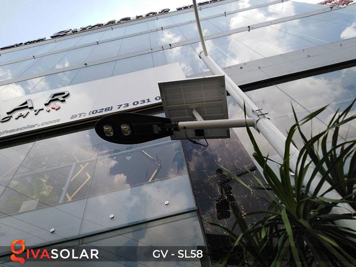 đèn đường LED năng lượng mặt trời SL58 8