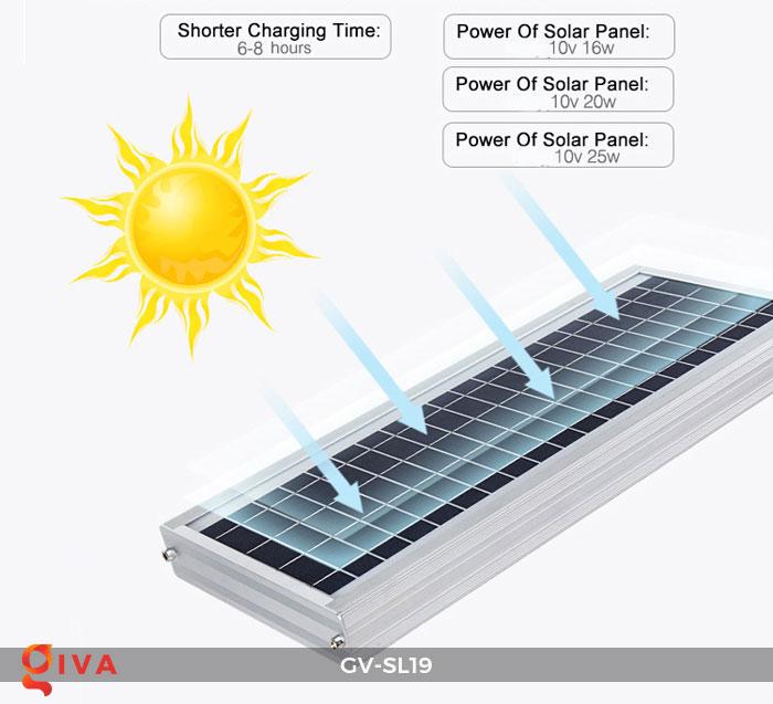 Đèn đường LED năng lượng mặt trời SL19 18