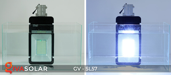 Đèn chiếu sáng đường năng lượng mặt trời SL57 15