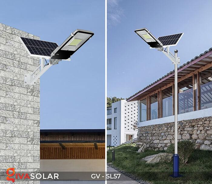 Đèn chiếu sáng đường năng lượng mặt trời SL57 17