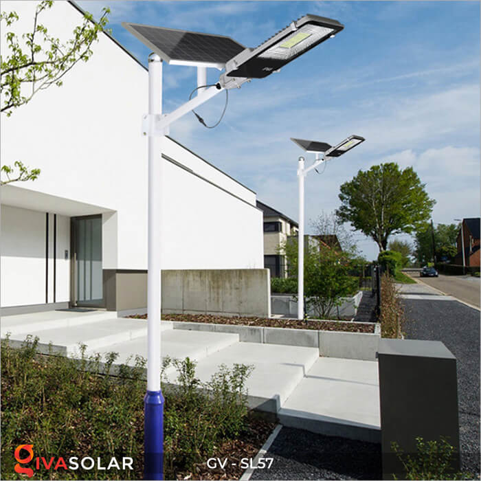 Đèn chiếu sáng đường năng lượng mặt trời SL57 18