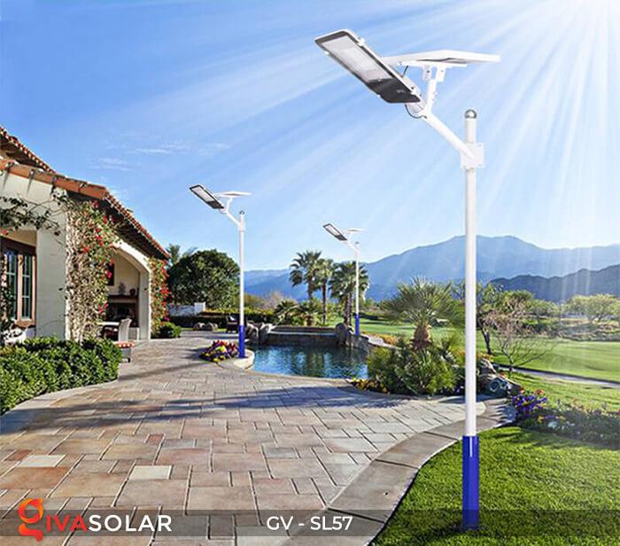 Đèn chiếu sáng đường năng lượng mặt trời SL57 19