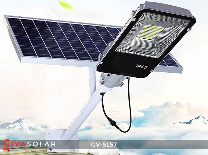 Đèn chiếu sáng đường năng lượng mặt trời SL57 2