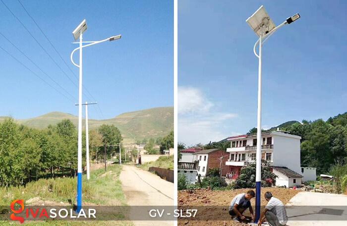 Đèn chiếu sáng đường năng lượng mặt trời SL57 21