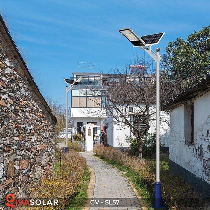 Đèn chiếu sáng đường năng lượng mặt trời SL57 22