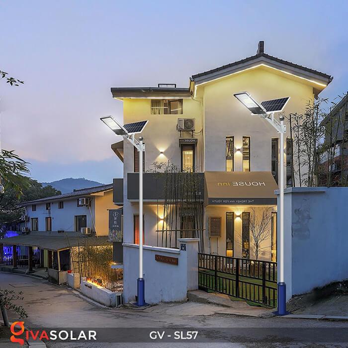 Đèn chiếu sáng đường năng lượng mặt trời SL57 23
