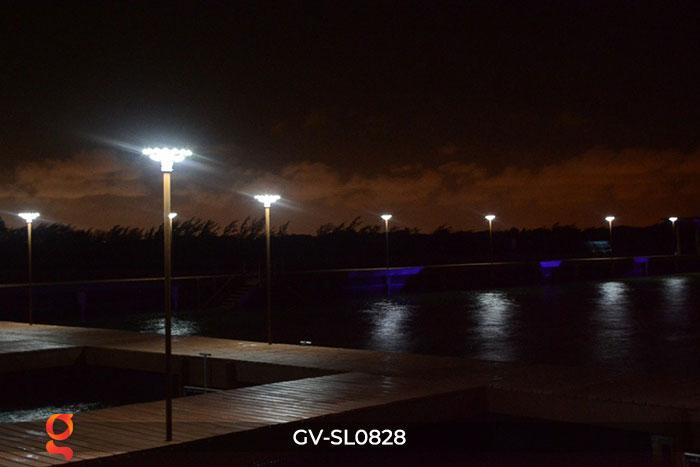 Đèn đường tròn năng lượng mặt trời SL0828 3