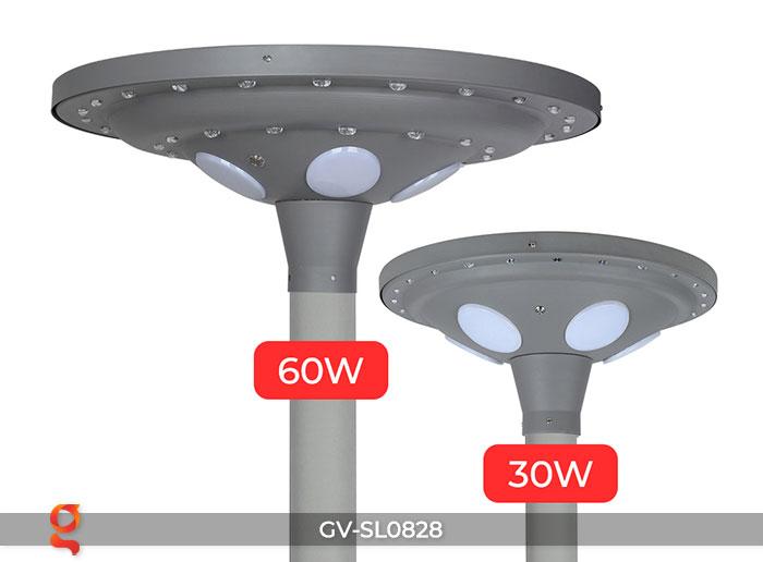 Đèn đường tròn năng lượng mặt trời SL0828 5