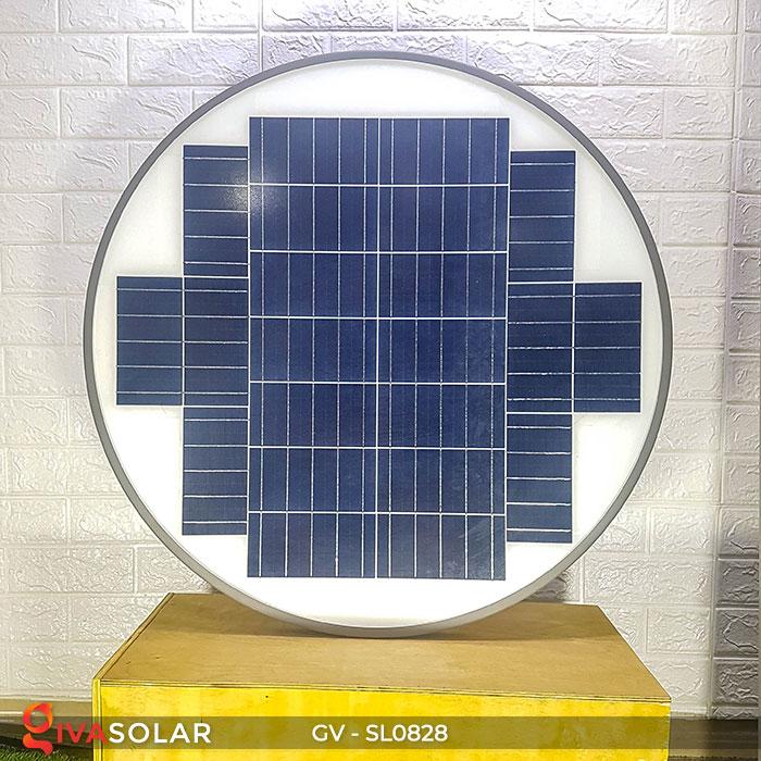 Đèn đường tròn năng lượng mặt trời SL0828 8