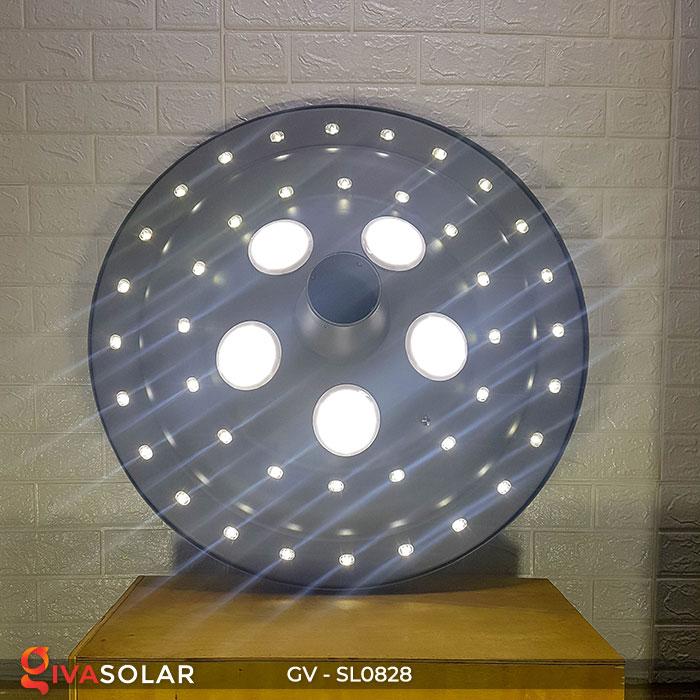 Đèn đường tròn năng lượng mặt trời SL0828 9