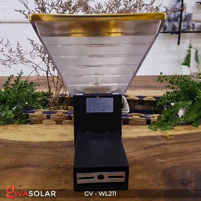 Đèn gắn tường năng lượng mặt trời WL211 12