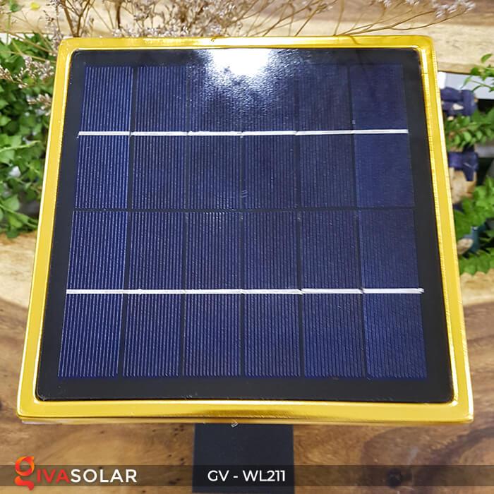Đèn gắn tường năng lượng mặt trời WL211 13