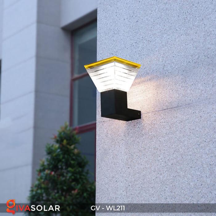 Đèn gắn tường năng lượng mặt trời WL211 4