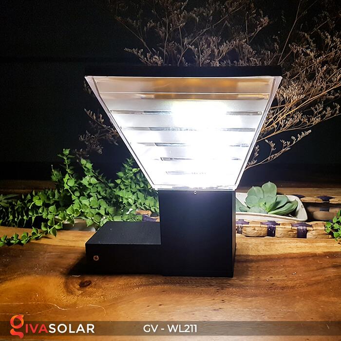 Đèn gắn tường năng lượng mặt trời WL211 5