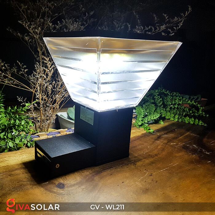 Đèn gắn tường năng lượng mặt trời WL211 7