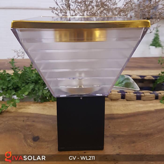 Đèn gắn tường năng lượng mặt trời WL211 8