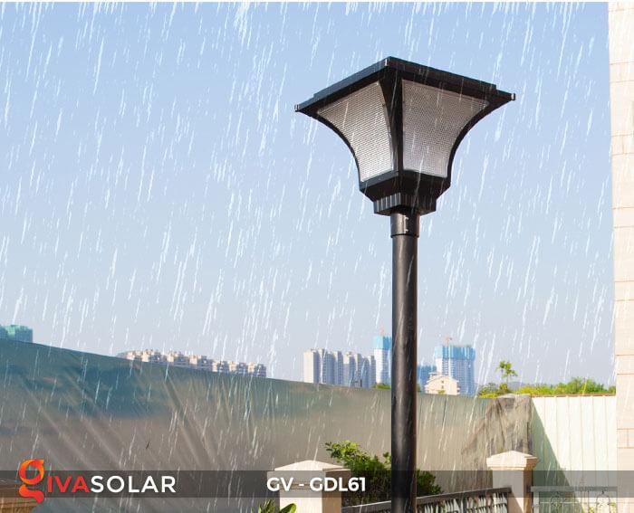 Đèn năng lượng mặt trời chiếu sáng sân vườn GDL61 13
