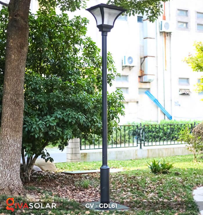 Đèn năng lượng mặt trời chiếu sáng sân vườn GDL61 14