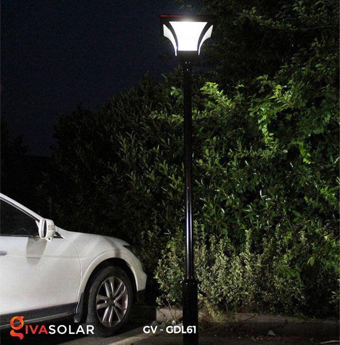 Đèn năng lượng mặt trời chiếu sáng sân vườn GDL61 18