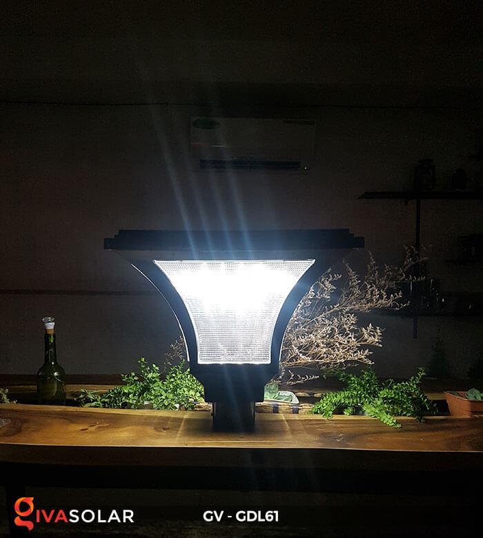 Đèn năng lượng mặt trời chiếu sáng sân vườn GDL61 4