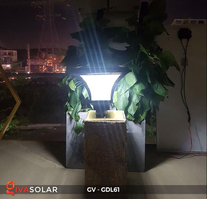 Đèn năng lượng mặt trời chiếu sáng sân vườn GDL61 5