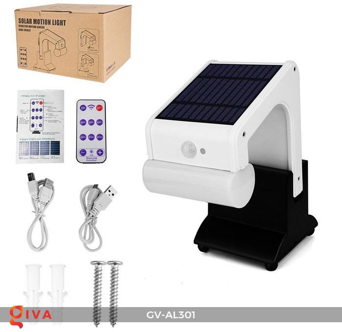Đèn năng lượng mặt trời đa năng có Bluetooth phát nhạc AL301 1