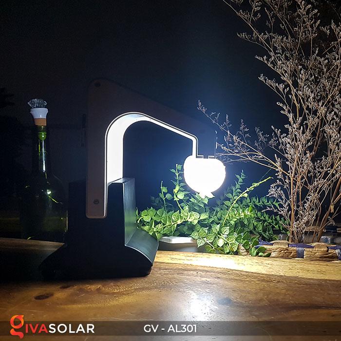 Đèn năng lượng mặt trời đa năng có Bluetooth phát nhạc AL301 11