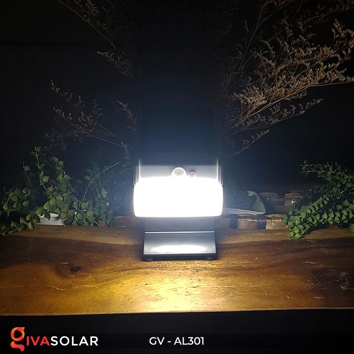 Đèn năng lượng mặt trời đa năng có Bluetooth phát nhạc AL301 12