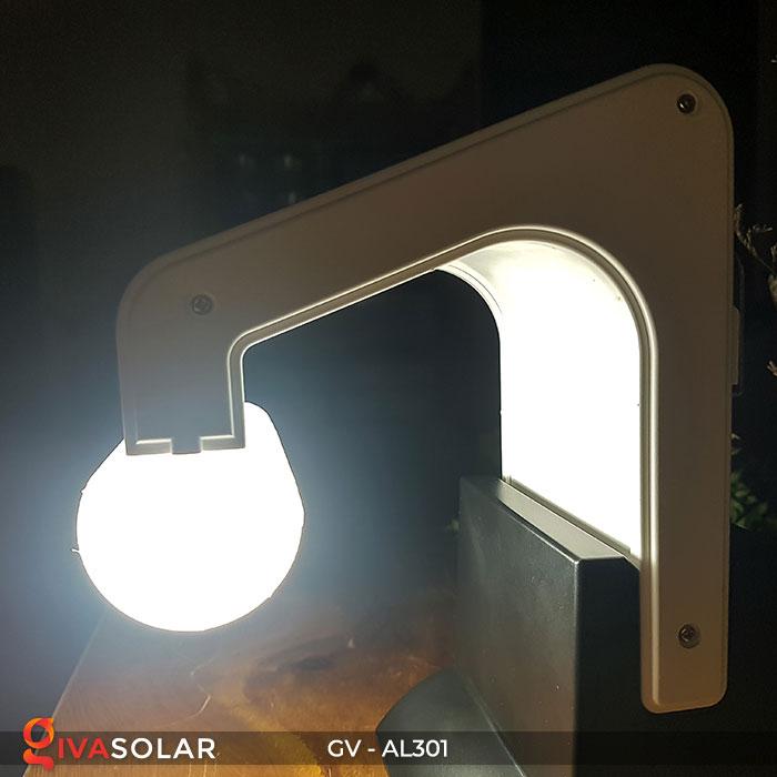Đèn năng lượng mặt trời đa năng có Bluetooth phát nhạc AL301 13