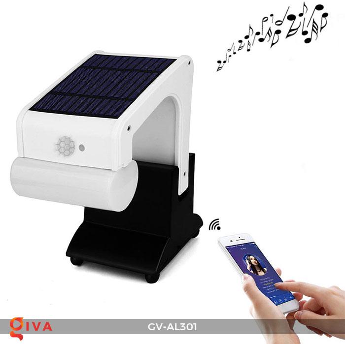Đèn năng lượng mặt trời đa năng có Bluetooth phát nhạc AL301 3