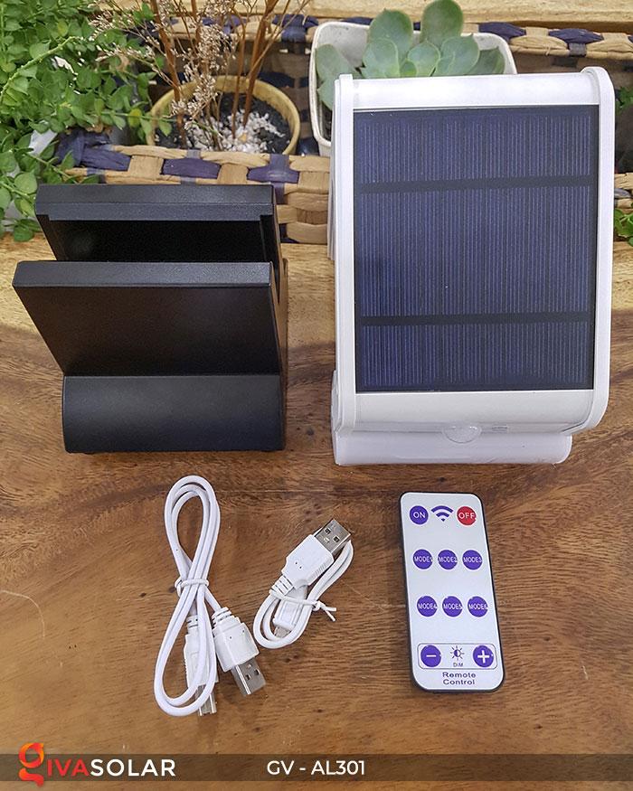 Đèn năng lượng mặt trời đa năng có Bluetooth phát nhạc AL301 5