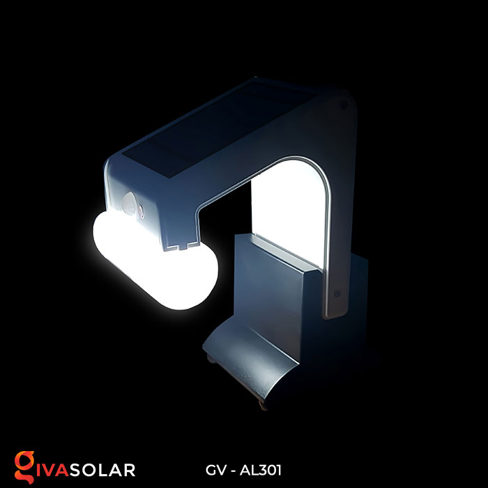 Đèn năng lượng mặt trời đa năng có Bluetooth phát nhạc AL301 9